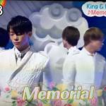 キンプリ zip 10月8日『Memorial』を生披露!動画あり